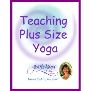 Gentle Yoga with Naomi Teaching Plus Size Yoga