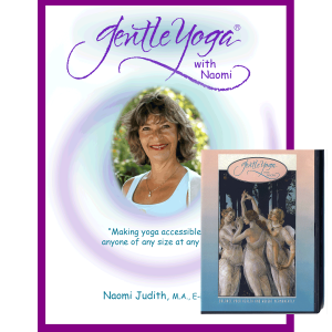 Gentle Yoga with Naomi Student Yoga Manual with Gentle Yoga Exercise Video DVD